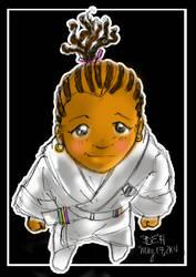 Karate Kid J_color sketch by danee313