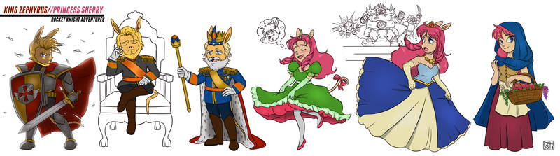 King Zephyrus Princess Sherry_RKA Char Studies