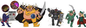Villains and Anti-Hero - RKA Character Studies