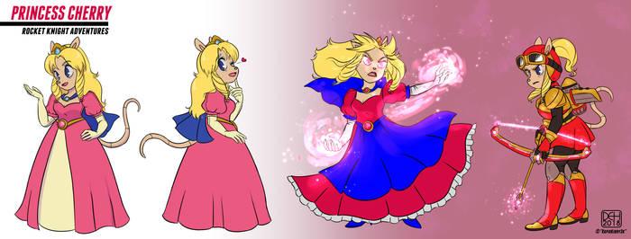 Commission - Princess Cherry
