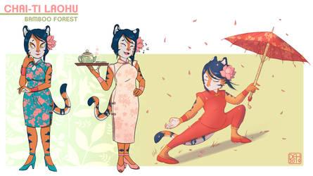 Chai-ti Laohu - Character studies