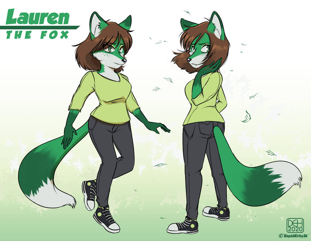 Commission - Lauren the Fox