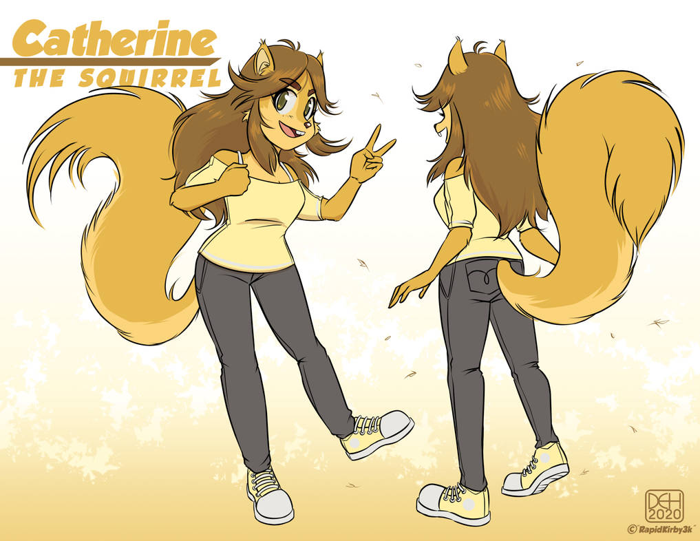 Commission - Catherine the Squirrel