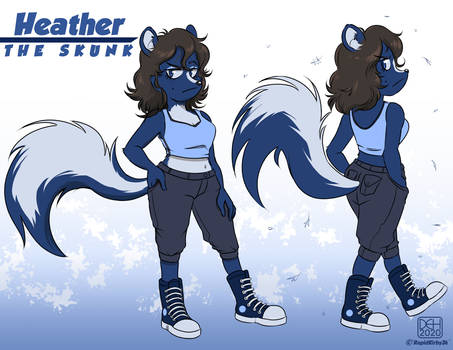 Commission - Heather the Skunk