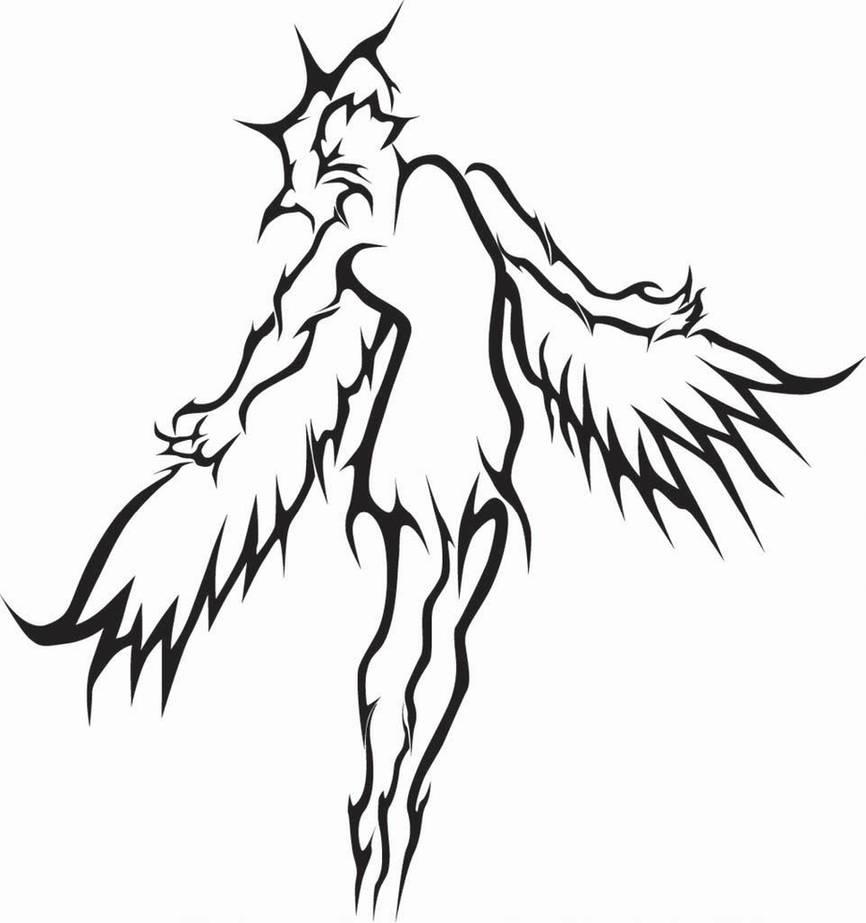 Angel Tattoo 2