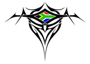 Tribal Flag Tattoo