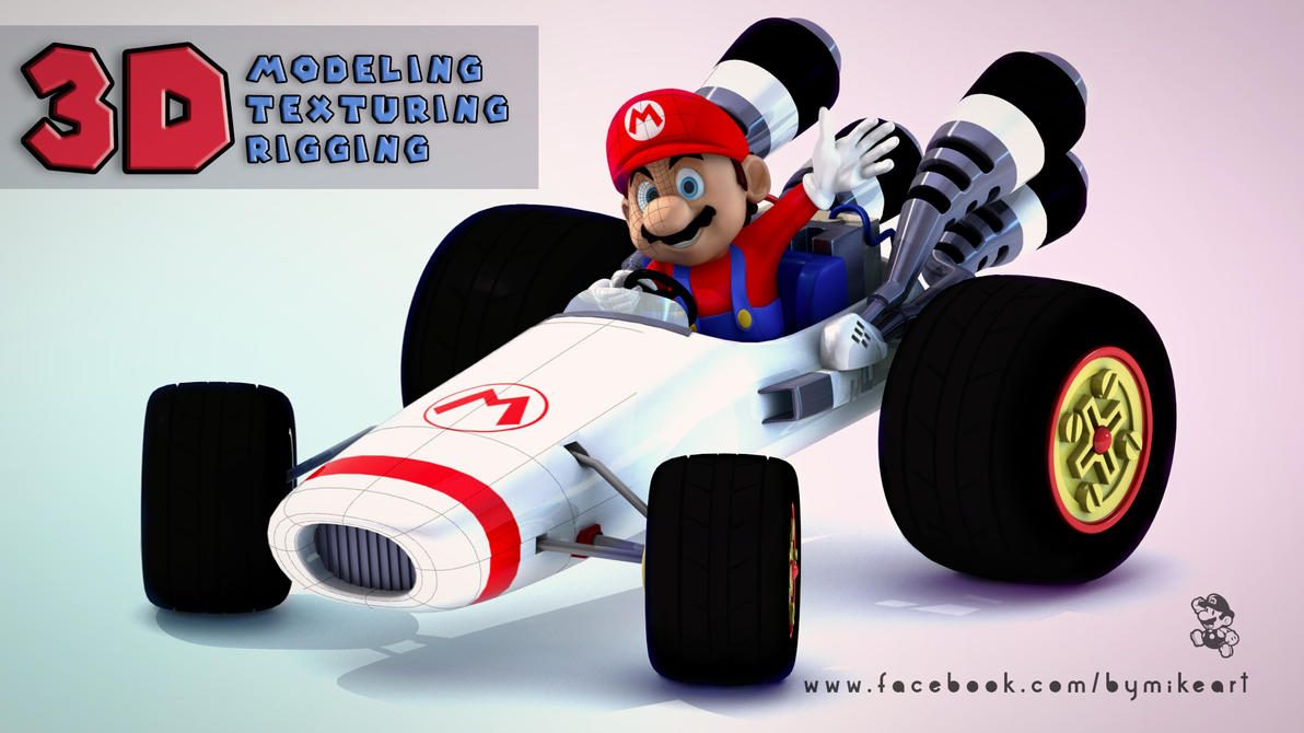 Mario Cart by ByMike
