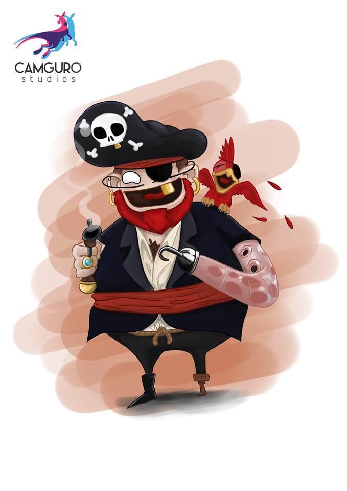 Pirata barba roja by ByMike