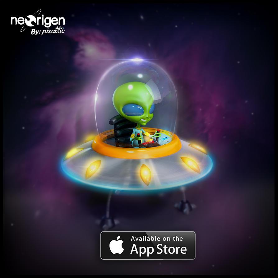 Alien de Neoigen 3ds Max by ByMike