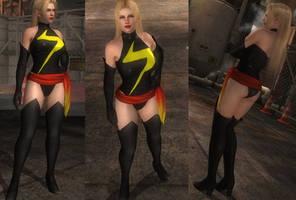 Ms. Marvel cosplay for Rachel (D/L)