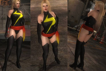 Ms. Marvel cosplay for Rachel (D/L)