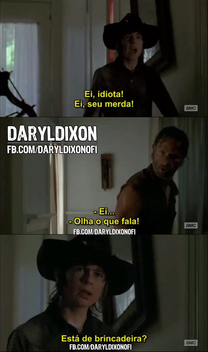 Rick e Carl 4 Temporada de The Walking Dead by DarylDixonOfi1 on ...