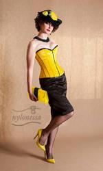 Corset Evita by Nylonessa by Nylony-pl