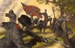 Civil War Skeletons. Somebody should tell them....