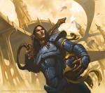 Warhammer 40k - Guardian Mesh Armor by Rilez75
