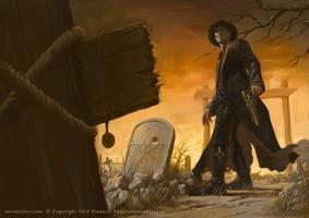 Deadlands Ghostwalkers Pinnacle Entertainment by Rilez75