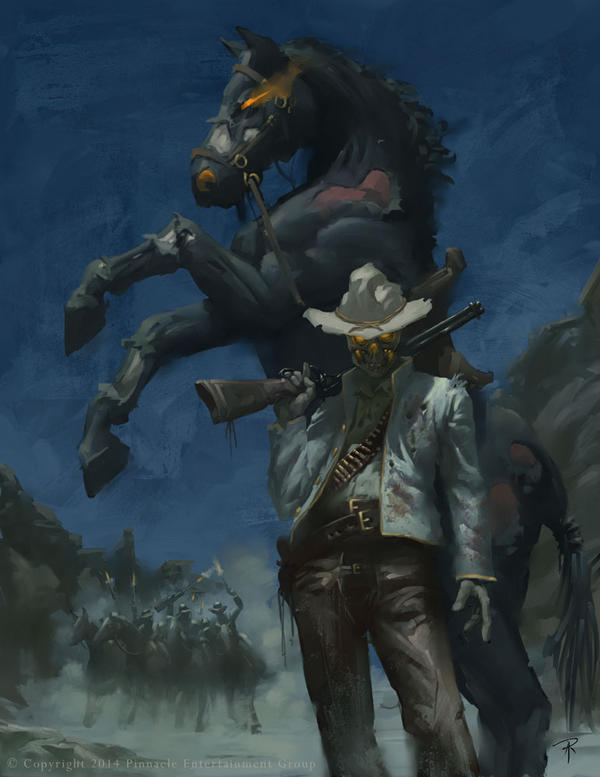 Deadlands: Dead Dude with a horse
