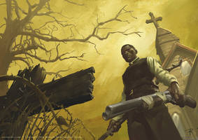 Deadlands Preacher Pinnacle Entertainment Games by Rilez75