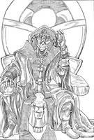 Star Wars - Darth Jar Jar by Darkborne-Lines