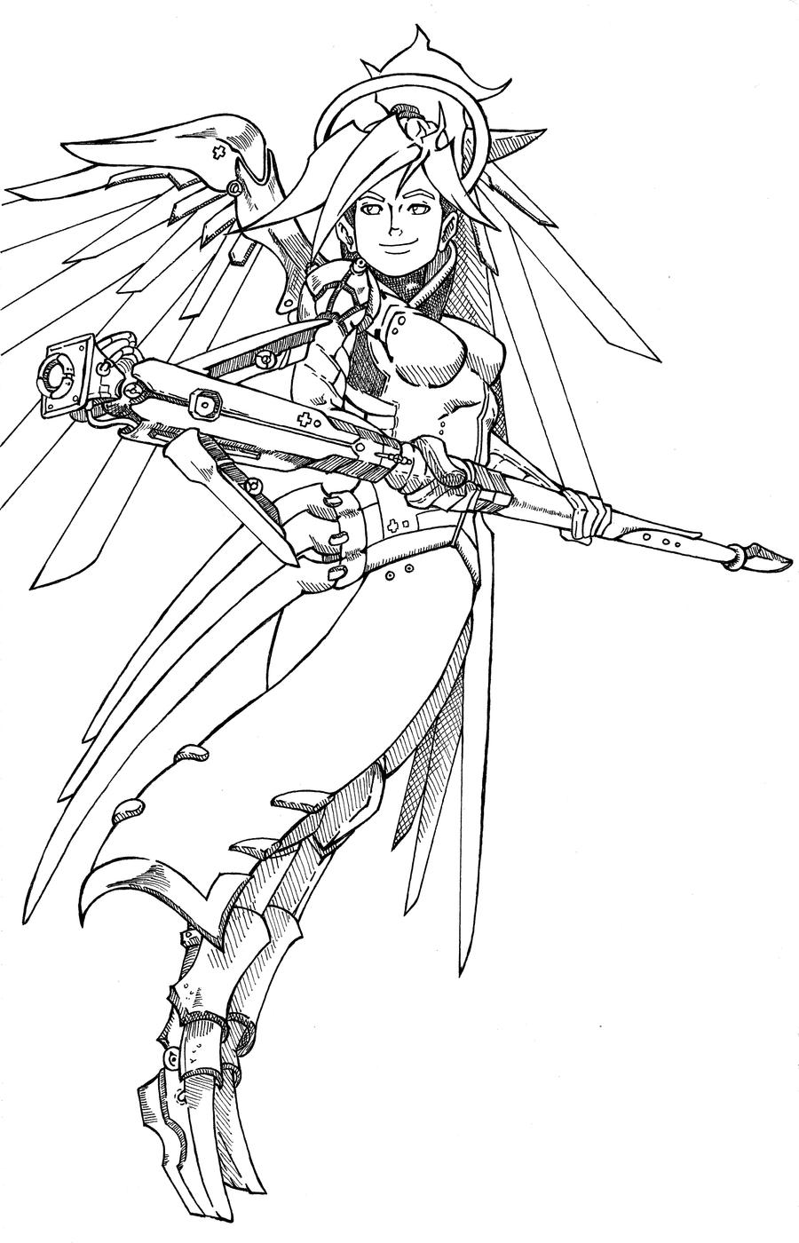 Image Result For Overwatch Reaper Coloring