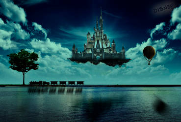 Disney Dreamcastle by joeyvandewouw