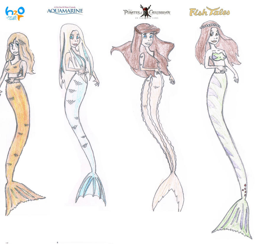 mako mermaids coloring pages - the gallery for how to draw mermaids from h2o