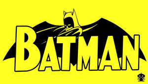 1957 Batman Comic Title Logo by TheDorkKnightReturns