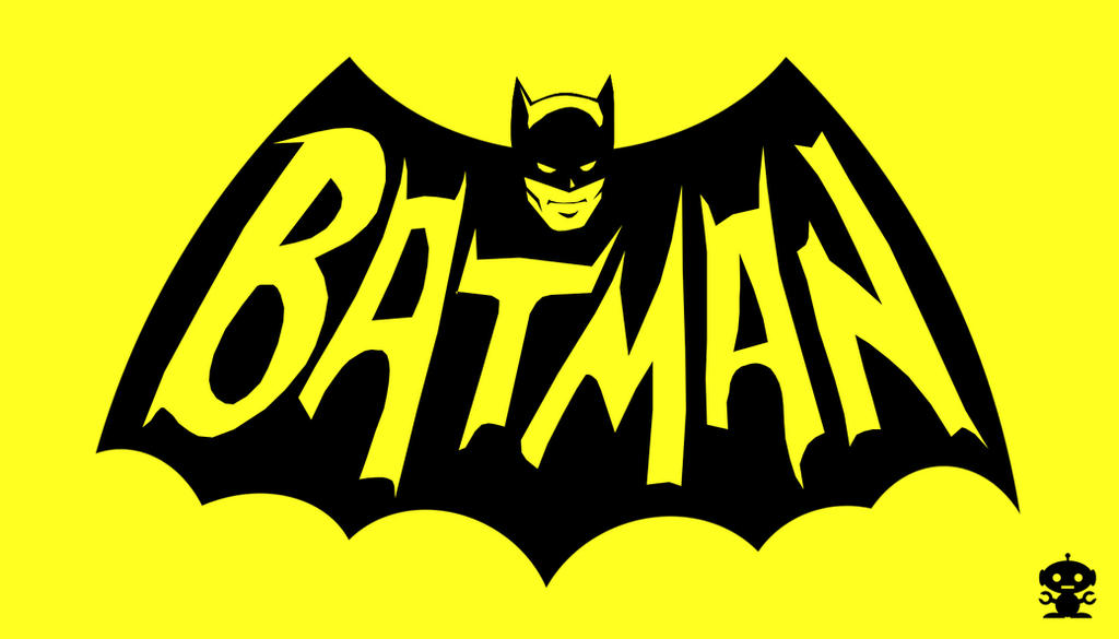 1966 Batman Tv Show Title Logo By Thedorkknightreturns On