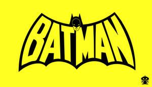 1970 Batman Comic Title Logo