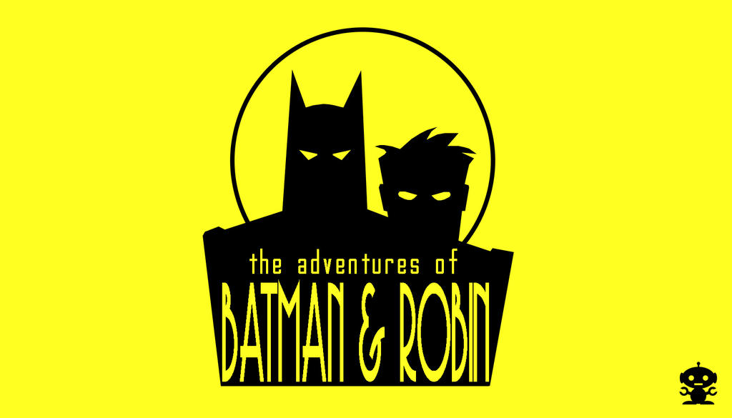 1994 The New Adventures Of Batman And Robin Logo By