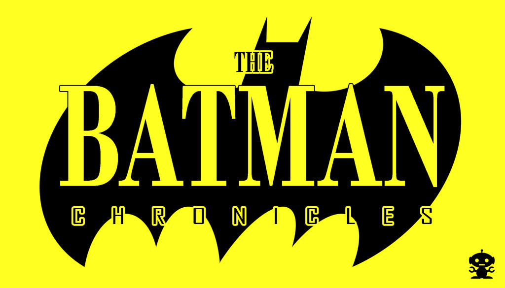 1995 Batman Chronicles Comic Title Logo By Thedorkknightreturns On