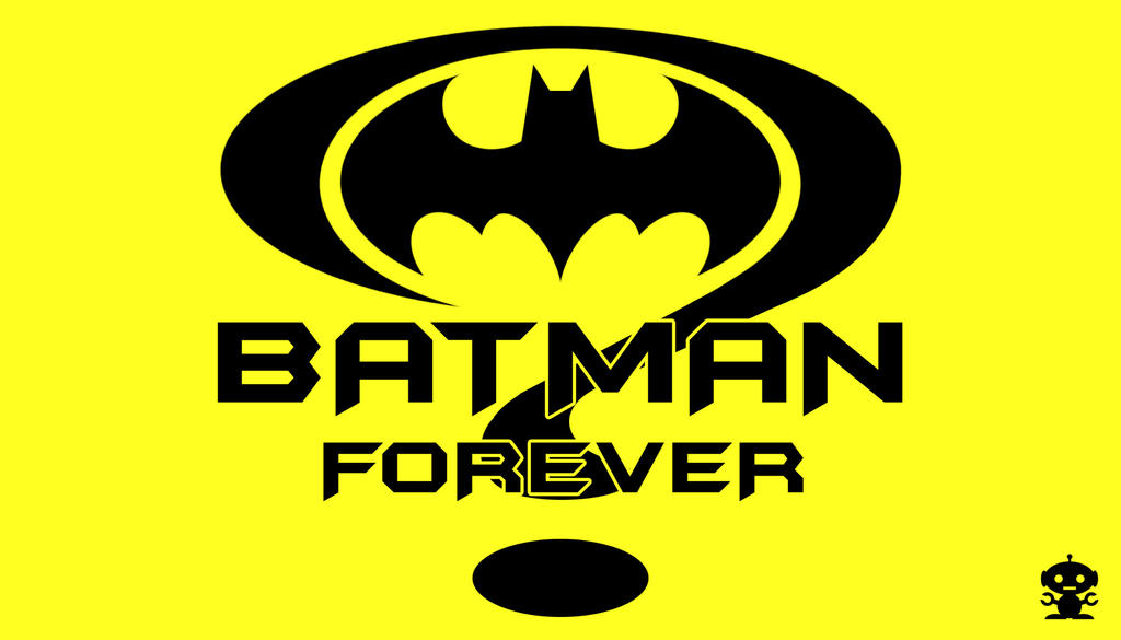 1995 Batman Forever Movie Title Logo by HappyBirthdayRoboto