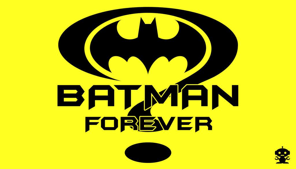 1995 Batman Forever Movie Title Logo by HappyBirthdayRoboto