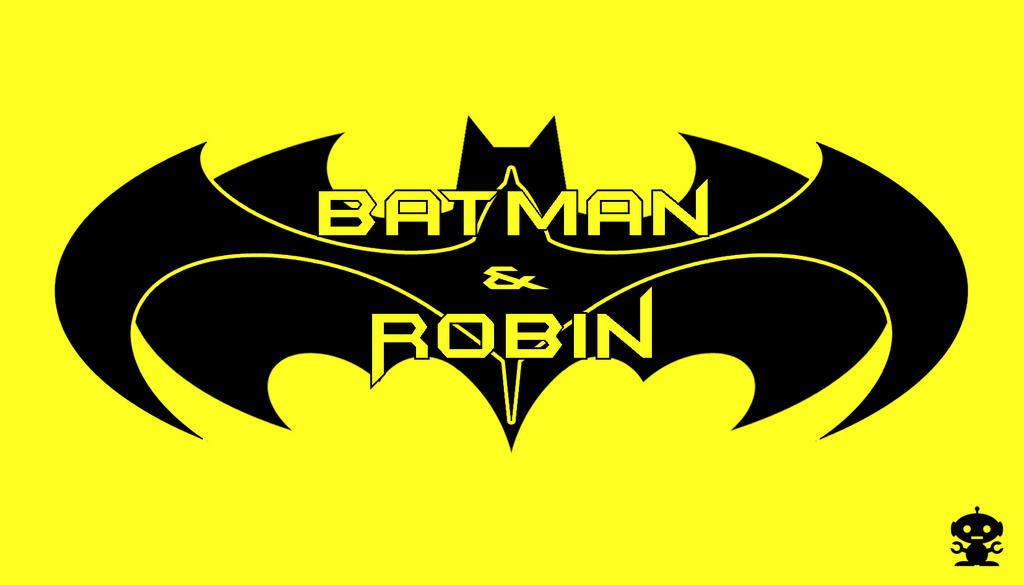 1997 Batman and Robin Movie Title Logo by HappyBirthdayRoboto