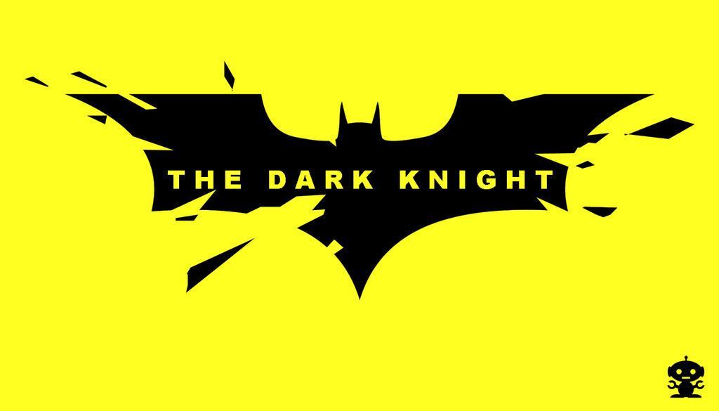 2008 The Dark Knight Movie Title Logo by HappyBirthdayRoboto