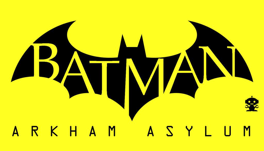 2009 Arkham Asylum Videogame Title Logo by HappyBirthdayRoboto