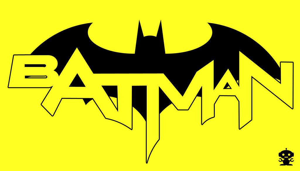 2011 The New 52 Batman Comic Title Logo by HappyBirthdayRoboto