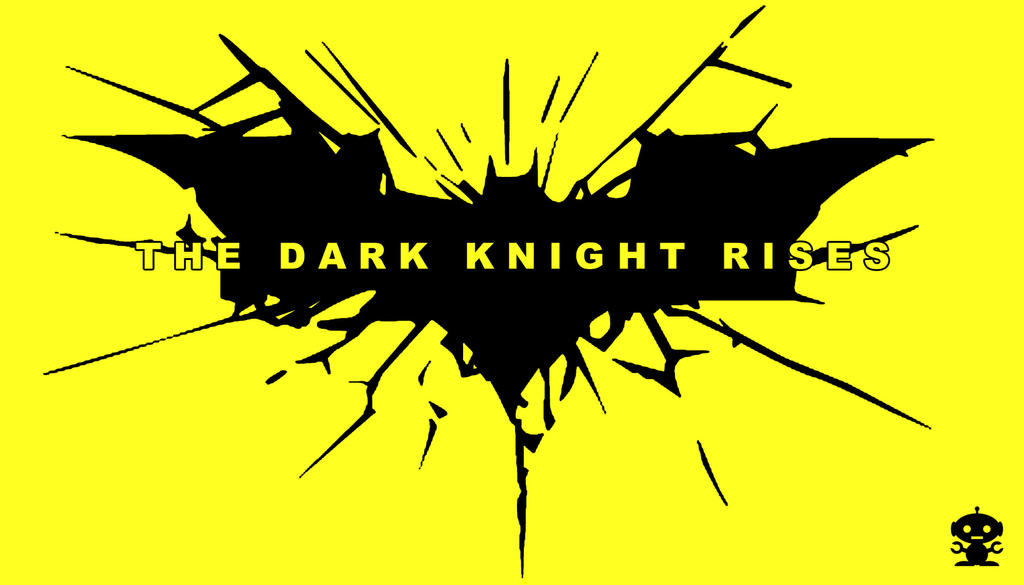 2012 The Dark Knight Rises Movie Title Logo by HappyBirthdayRoboto