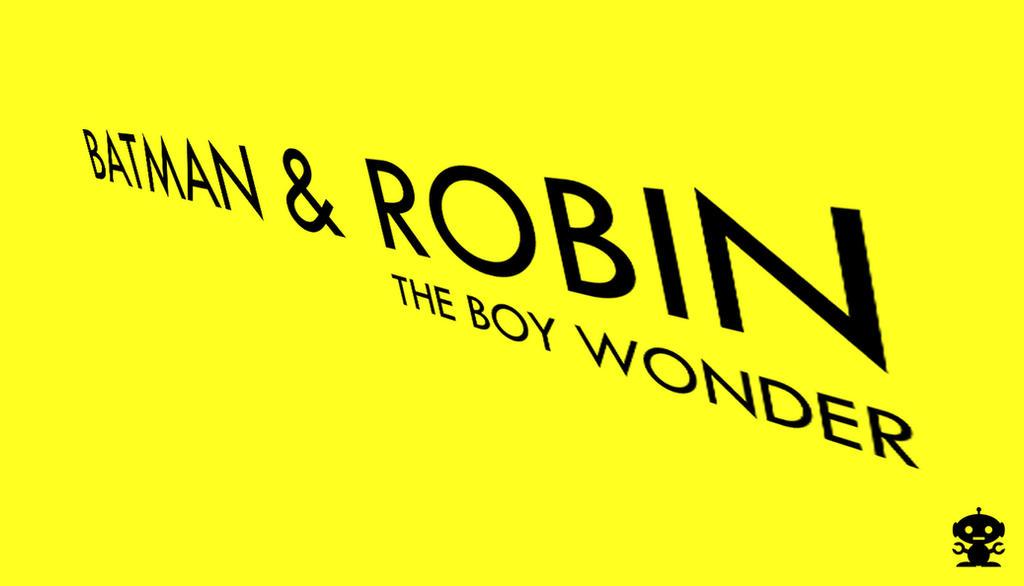 2005 Batman and Robin the Boy Wonder Comic Logo