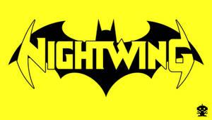 2011 The New 52 Nightwing Comic Title Logo