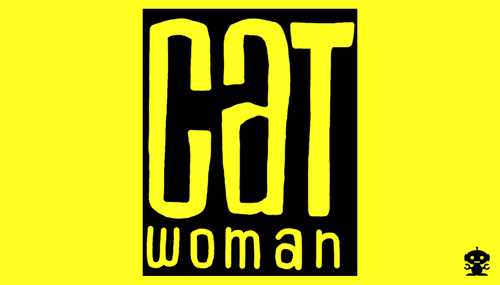 TheDorkKnightReturns 2001 Catwoman Comic Title Logo By
