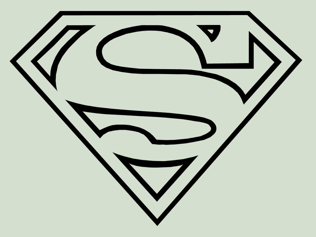 superman logo classic by thedorkknightreturns on deviantart