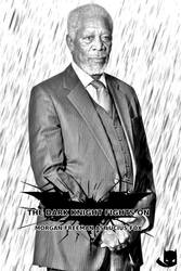 Morgan Freeman as Lucius Fox