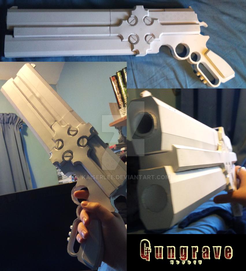 GunGrave Cerberus Papercraft by KaiserLee on DeviantArt Gungrave Cerberus Guns