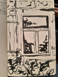 Inktober: 27th October 2019 - Window