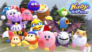 [SFM] Kirby Star Allies Artwork