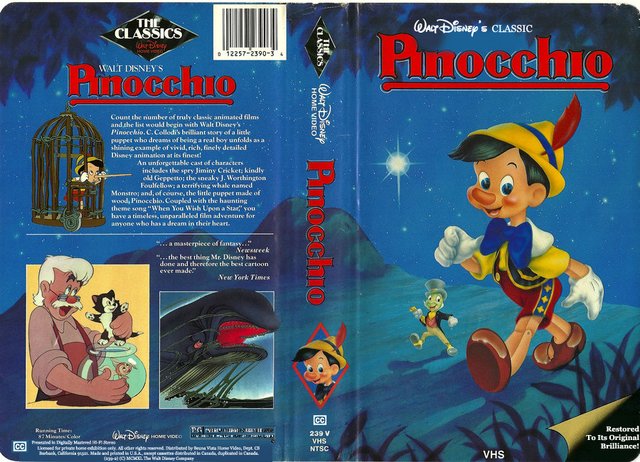 Image Gallery disney vhs 1993
