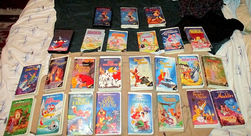 My disney black diamond classic vhs collection by for Classic home collection