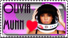 OLIVIA MUNN STAMP by ILLMAGUS