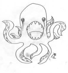 Killer Octopus by ILLMAGUS